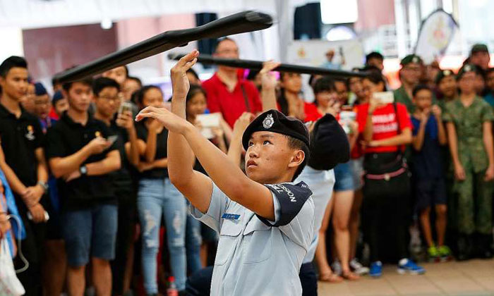 CCA groups in S'pore get their day at inaugural Uniformed Groups Carnival