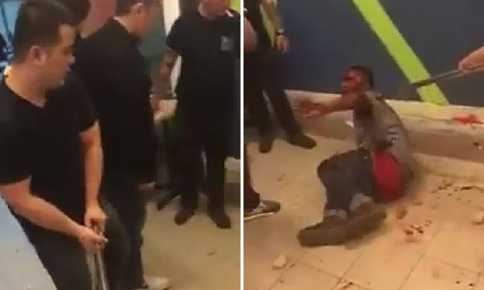 Man suffers violent beating with metal poles after allegedly being caught stealing in Sarawak