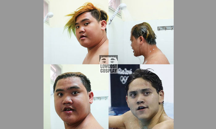 This guy deserves a gold medal for showing us how to 'transform' into the dashing Joseph Schooling