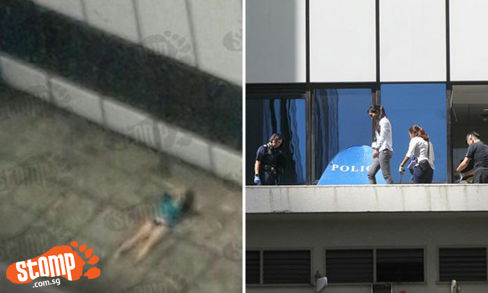 Woman found dead on office building parapet: She was a cleaner who fell from 10th floor