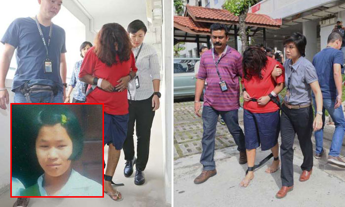 Mother and daughter accused of killing Myanmar maid taken to Bishan flat for investigations