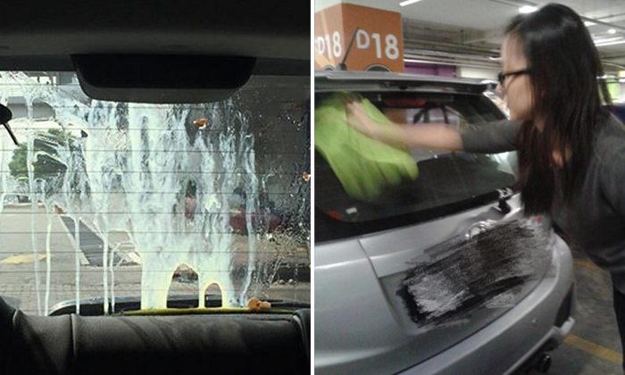 Taxi drivers in Malaysia throw eggs at woman's car after mistaking her for Uber driver