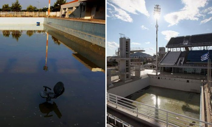 Haunting photos reveal how locations from the 2004 Athens Olympic Games look like now