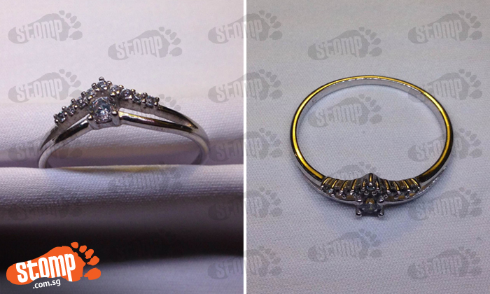 Pretty ring found at taxi stand near MBS casino: Is it yours?