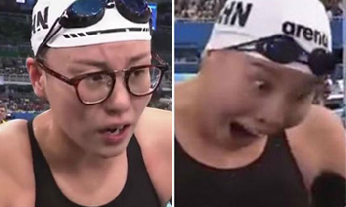 China's adorable Olympic swimmer breaks taboo by talking openly about her period