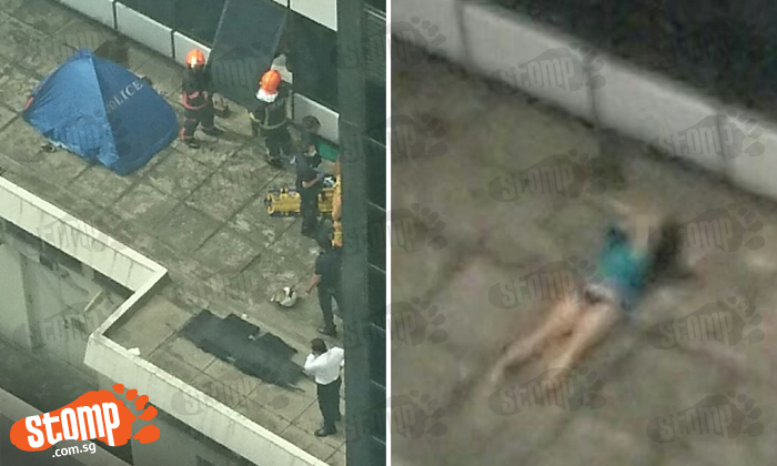 Woman in top and undies found dead on Central Business District office building parapet