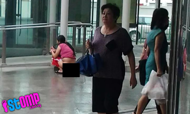 Woman Spotted Relieving Herself At Holland Village Mrt -3120