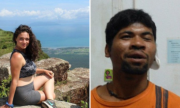 American tourist, 23, breaks her back trying to escape pervert in Thailand whom she asked for directions