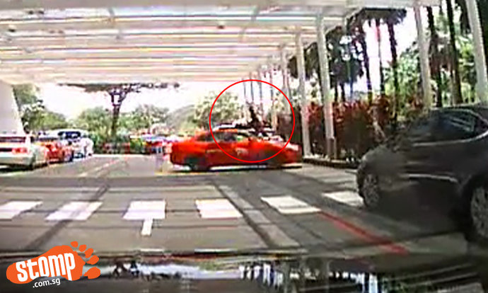 70-year-old elderly valet was working when he was hit by 52-year-old cabby at Marina Bay Sands