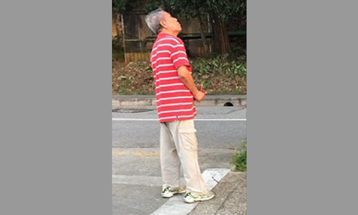 Do you know this uncle SPCA is looking for him in relation to alleged monkey abuse at Woodlands Waterfront Park