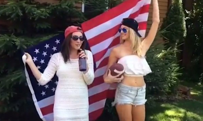 Hot girls fail terribly while trying to get that Instagram-worthy shot