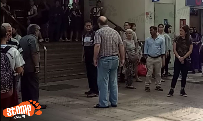 What happened? Man yells at passerby for reportedly defending busker's choice to play music loudly at Tampines MRT station