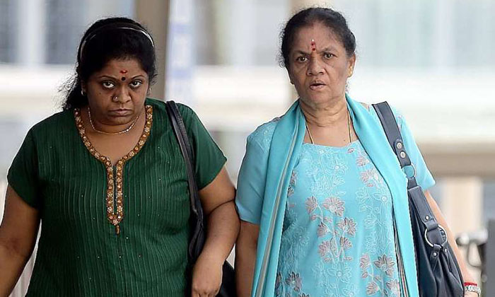 Mum and daughter jailed for abusing maid