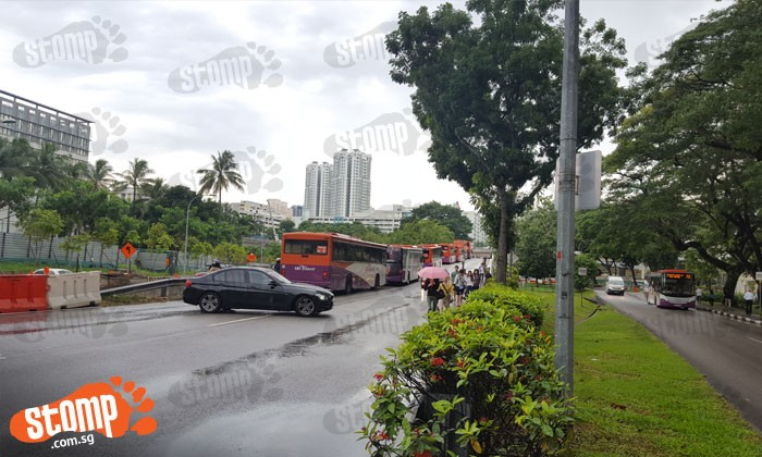 Accident at Toa Payoh flyover causes jam