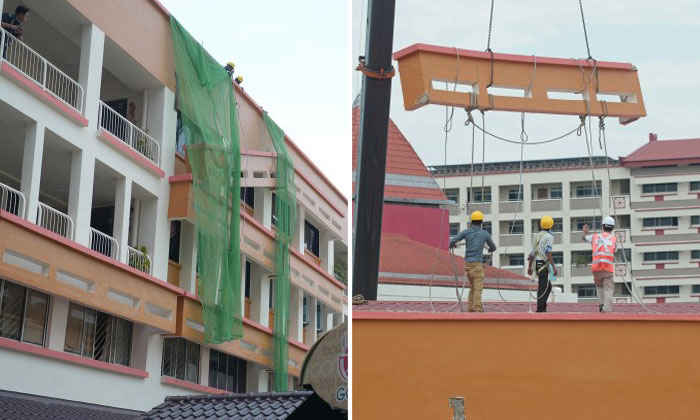 Worksite accidents on the rise -- yet where's the safety harness for these men?