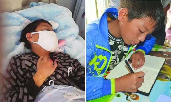Boy with leukemia travels 400km for treatment alone before going to school