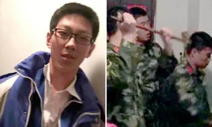 Chinese student gets trapped in elevator for 5 hours... and finishes his homework