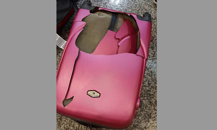 Furore after passenger offered $15 in compensation after her luggage gets crushed during KLM flight