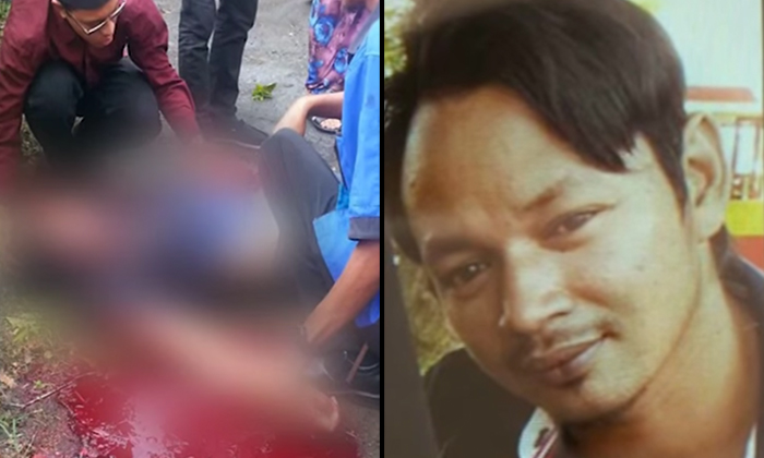 On the left: Victim 34-year-old Mohd Sukri. On the right: Murder suspect/ groom-to-be