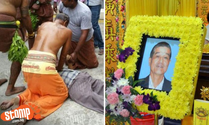 Elderly Chinese man who was given CPR by Hindu devotee dies