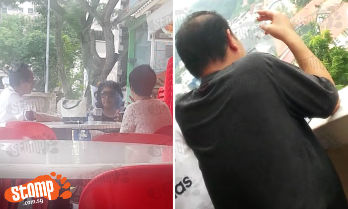 Inconsiderate smokers continue to light up at non-smoking areas in Chai Chee and Ghim Moh