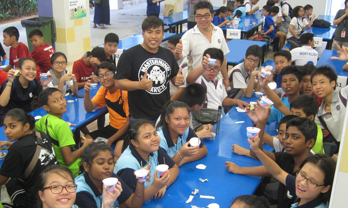 Ex-Northlight student does sweet gesture to pay it forward after getting free ice cream 9 years ago