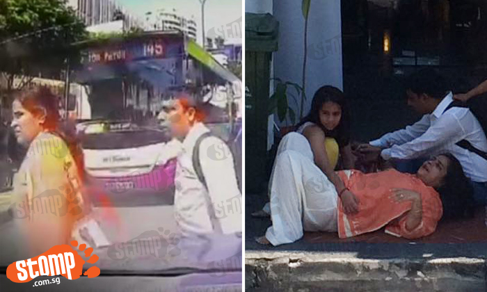 Woman hit by bus along Balestier Road: Heart-stopping video shows her jaywalking