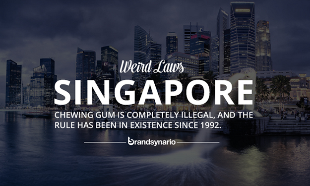 Weirdest laws around the world that you had better believe are real