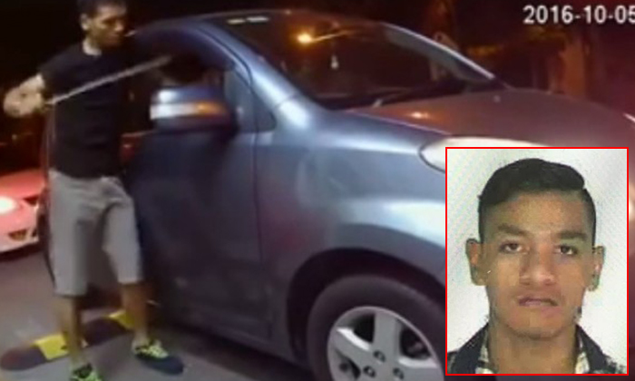 Machete-wielding teen caught on video slashing and robbing woman in Malaysia