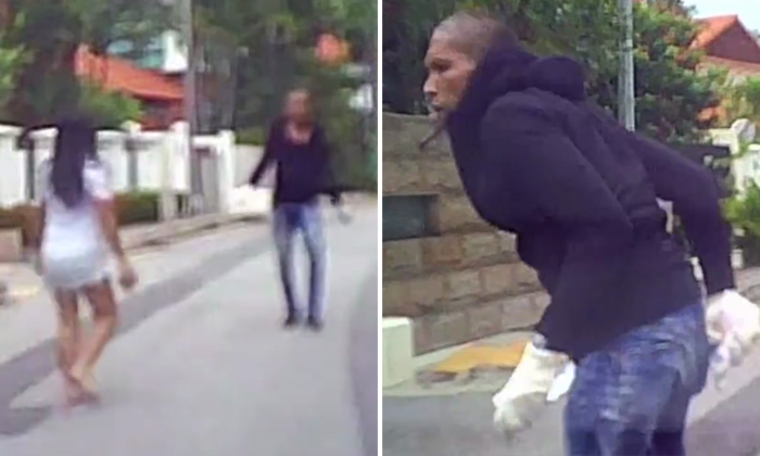 Thief turns violent after breaking into East Coast home and gets chased by maids -- but is stopped by heroic passer-by