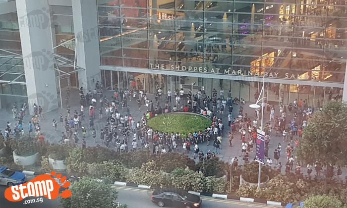 Pokemon GO mania still going strong at Marina Bay Sands