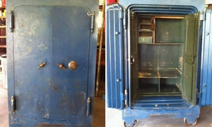 What family found in grandma's old safe changed everything they thought they knew