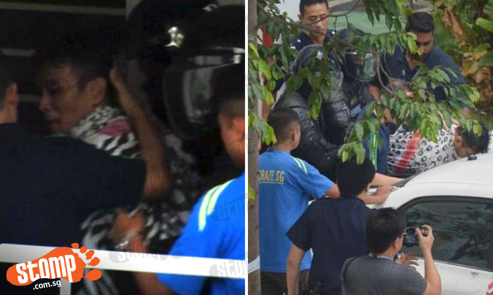 Man who locked himself in Sembawang flat with 2-year-old boy for 17 hours charged with having brass knuckles