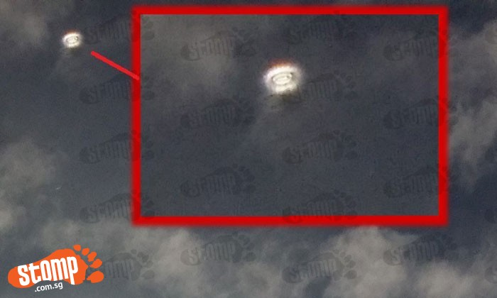 Is that a 'UFO' or just a really pretty ring of light?