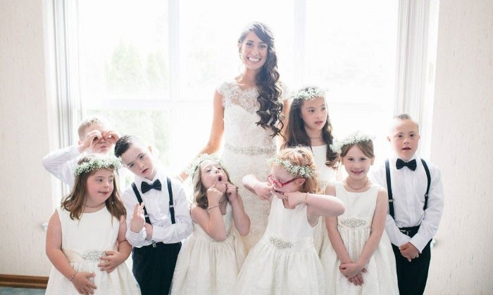 Special ed teacher gets married -- and even her invited whole class to wedding