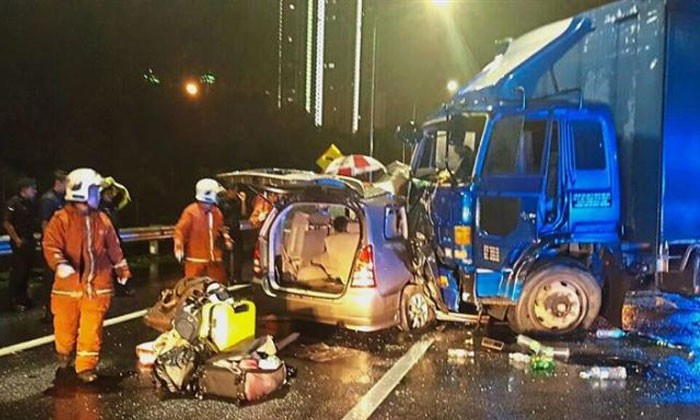 Brothers die in crash in Malaysia less than two hours after returning from Japan