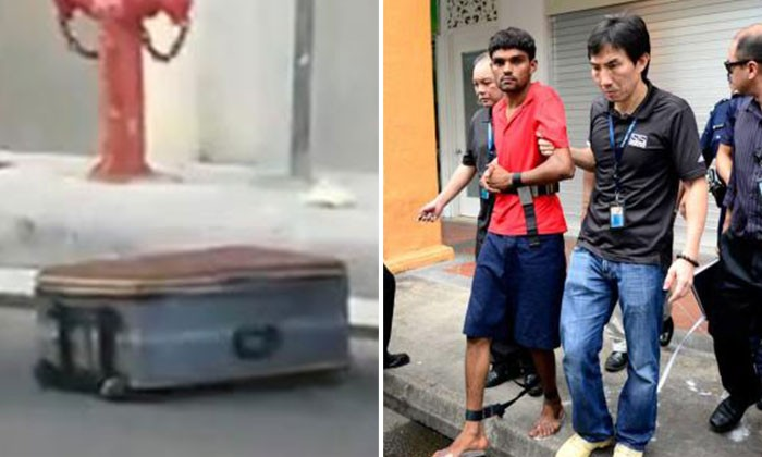 Legless body in suitcase: Brutal murder suspected to be over card game