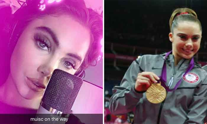 Former Olympic gymnast aspires to be pop icon -- and looks up to Taylor Swift