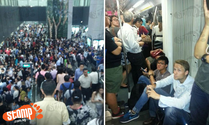 Today's train delay Passengers stuck on train for at least one hour with little ventilation
