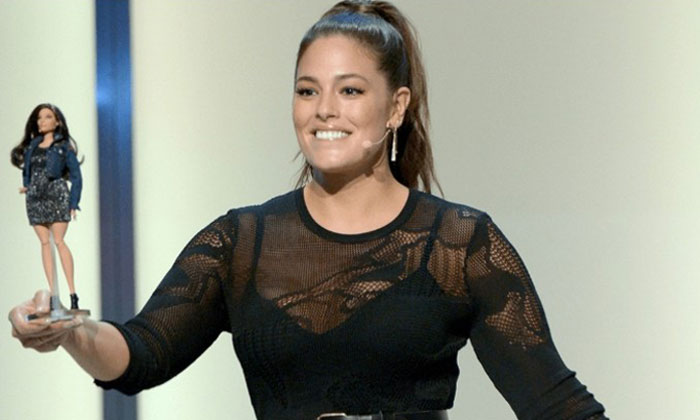 First Barbie doll without thigh gaps is here -- Barbie unveils ashley graham doll at Los Angeles summit