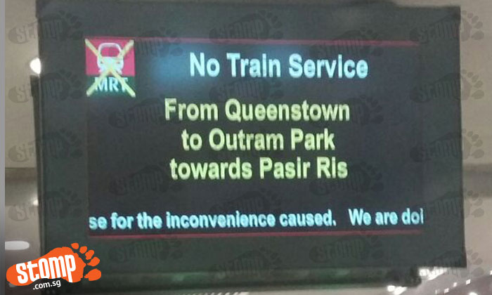 Second time in a day: Train service disrupted on East West Line due to train fault