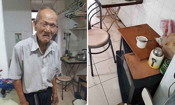 Helping Joy Centre seeks donations for 79-year-old Uncle Lee
