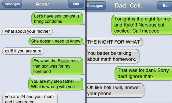 Texts Gone To Wrong Person