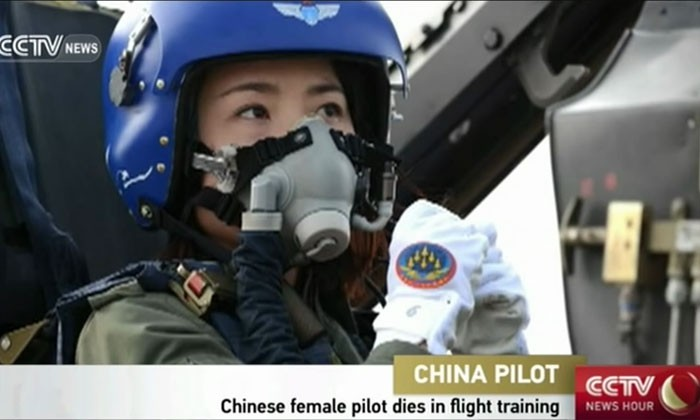 China's first female J-10 fighter pilot dies after fatal accident during training