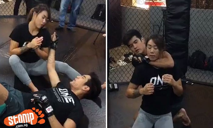 Nathan Hartono goes from nation's nightingale to brave fighter with Angela Lee