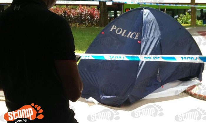 46-year-old woman found dead at the foot of Blk 270 in Bangkit