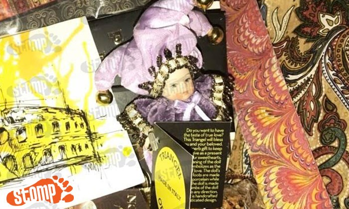 Stomper lost Triangel Italian doll given by BF -- and really wants it back