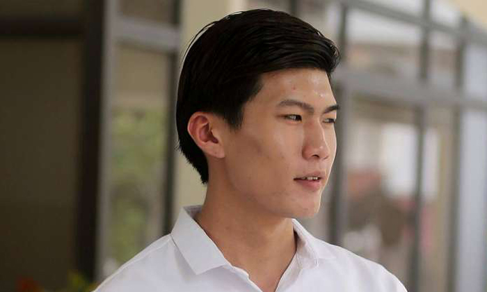 Former Certis Cisco corporal Gregory Lai Kar Jun was found guilty of two other charges. Photos: The Straits Times