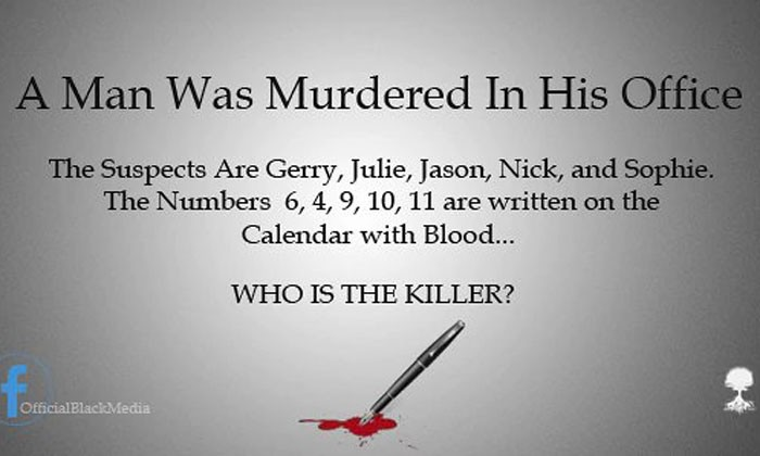 "Those numbers correspond to the months June, April, September, October, and November, which spells out ""Jason."""