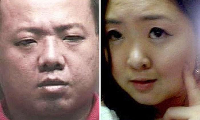Left: Gabriel Lee Haw Ling. Right: His fiancee Ms Elsie Lie Lek Chee's. Photos: ST, TNP